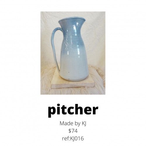 pitcher for sale