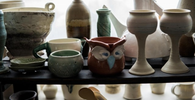 Pottery portfolio from Edmonton Pottery Studio, Viva Clayworks.